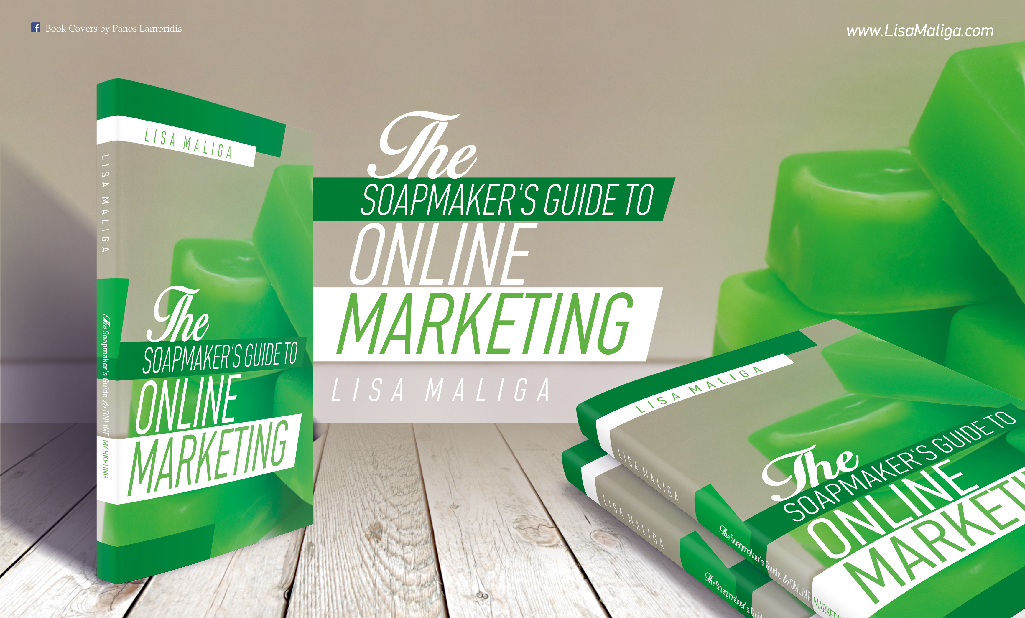 The Soapmaker's Guide to  Online Marketing ~ Now in Paperback!
