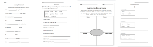 small resolution of Alliteration Lesson   Lisa Snyder