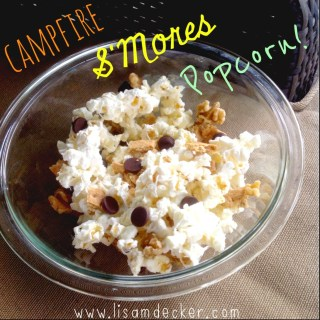 campfire s'more, s'mores recipes
