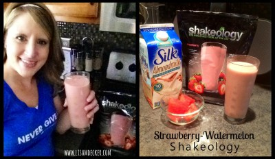 Shakeology, Shakeology Recipes, Strawberry Watermelon Shakeology