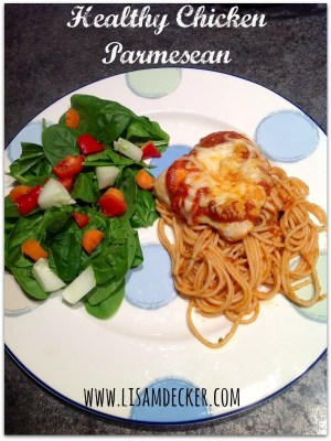 Healthy Chicken Parmesan, Clean Eating Recipes, Healthy Dinner Ideas