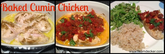 Cumin Baked Chicken, Clean Eating Recipes, Healthy Chicken Recipes, Insanity Max 30 Nutrition Guide