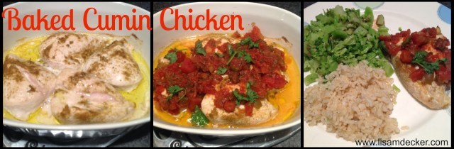 Week 2 Insanity Max 30, Insanity Max 30,  2015 online Health and Fitness  Groups, Insanity Max 30 Nutrition Guide, Baked Cumin Chicken
