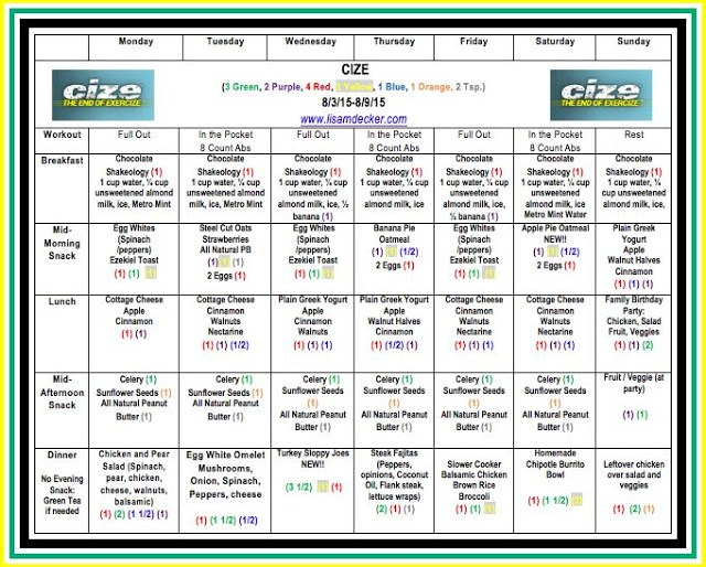 Cize, Shaun T new workout, Back to School Challenge, Cize Meal Plan, 21 Day Fix meal plan, 21 Day Fix, Clean Eating, Meal Planning, Health and Fitness Accountability Groups, Cize Week 2 Progress,