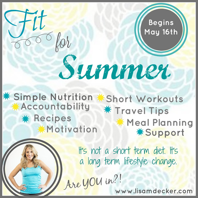 Fit for Summer Challenge, Beachbody Challenge Group, Clean Eating, Healthy Eating, Meal Planning, 21 Day Fix, 21 Day Fix Meal Plan, Short Workouts, 30 Minutes Workouts, Lisa Decker, Successfully Fit,