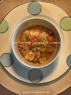 Chicken Rice Soup – Instant Pot