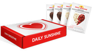 As of now, there are a couple of options when it comes to ordering Daily Sunshine. First, if you'd like to try it out, there is a sample box available. The sample box comes with 2 chocolate and 2 Strawberry Banana packets. Second, if you feel pretty certain that you and/or your child would only prefer one flavor, you can purchase a 30 serving bag of either flavor. Third, if you like the convenience of the packets, there is also an option to purchase a box of 24 packets. You can either get all chocolate, all strawberry banana, or you can get a box with 12 chocolate and 12 strawberry banana. How to buy daily sunshine