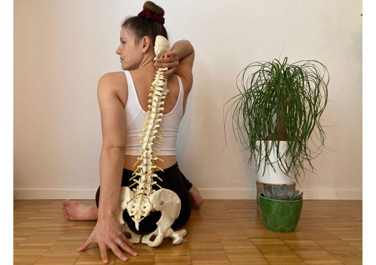 Rücken Yoga gesund