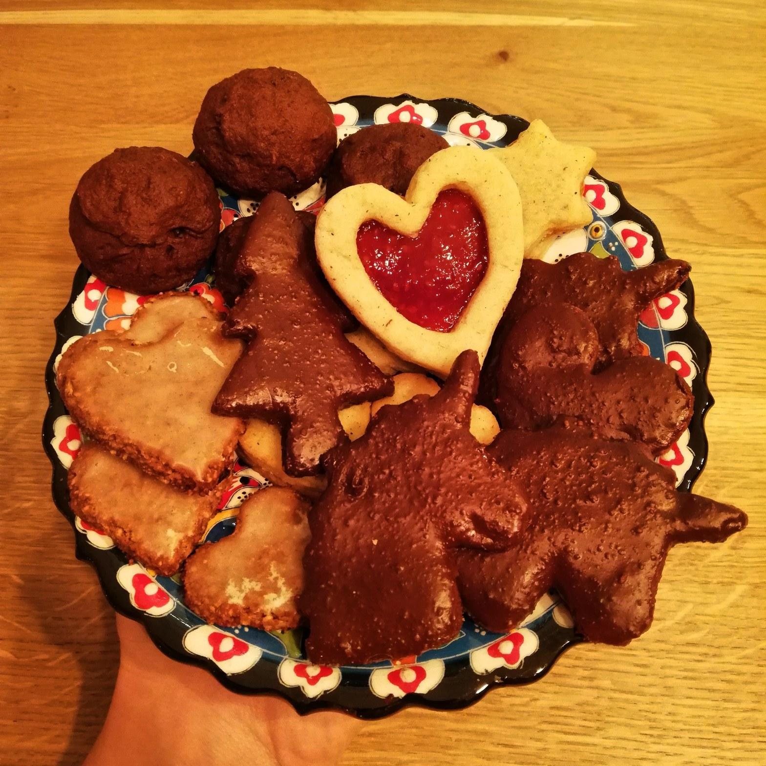 Vegane Weihnachts Guetzil