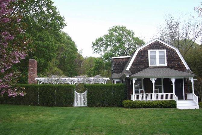Contemporary Farm House Rustic Black White Interior Design