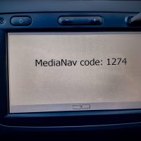 How to recover the MediaNav unlock code
