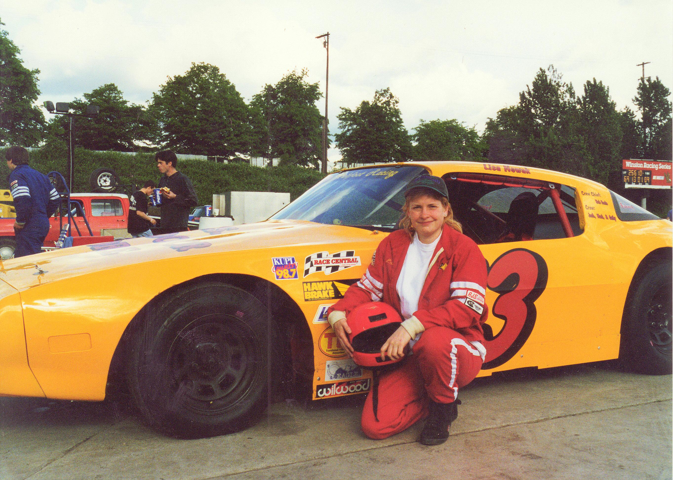 The Firebird at Portland Speedway