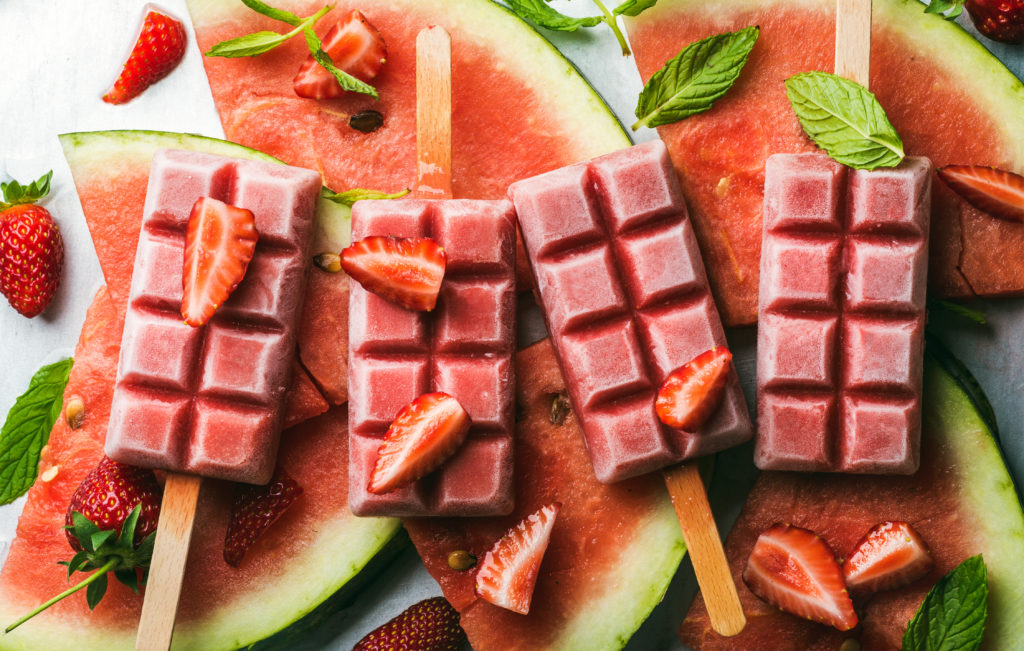 water melone ice