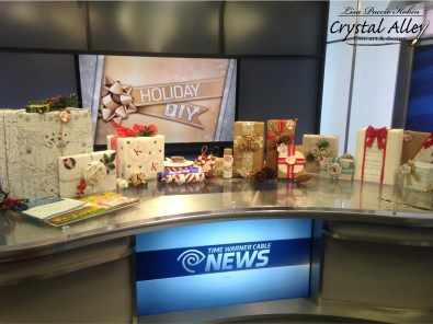 My Holiday DIY segment for Time Warner Cable News