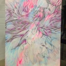 Mystic Morning 3x4ft acrylic on canvas -sold