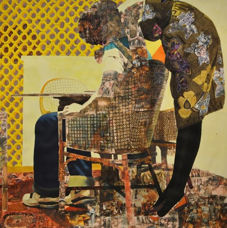 the thing around her neck-Njideka Akunyili Crosby