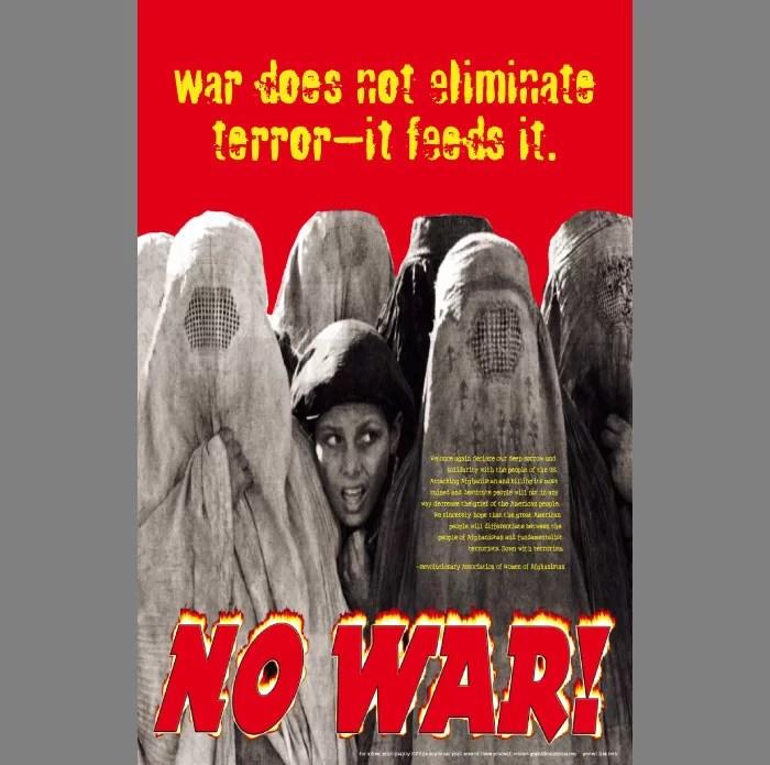 Anti-War-Burqas