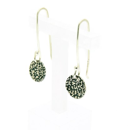 Recycled silver drop earrings | Lisa Rothwell-Young