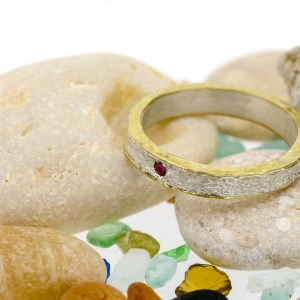 Eco Friendly Ethical Gold and Silver Ring | Lisa Rothwell-Young