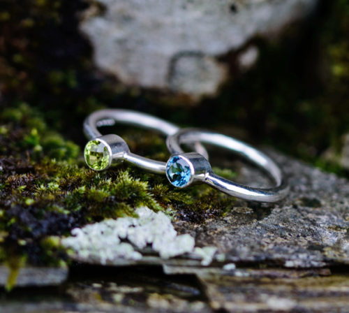 Ethical Silver Engagement Ring Lisa Rothwell-Young