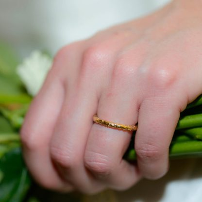 Ethical Wedding Ring | Lisa Rothwell-Young