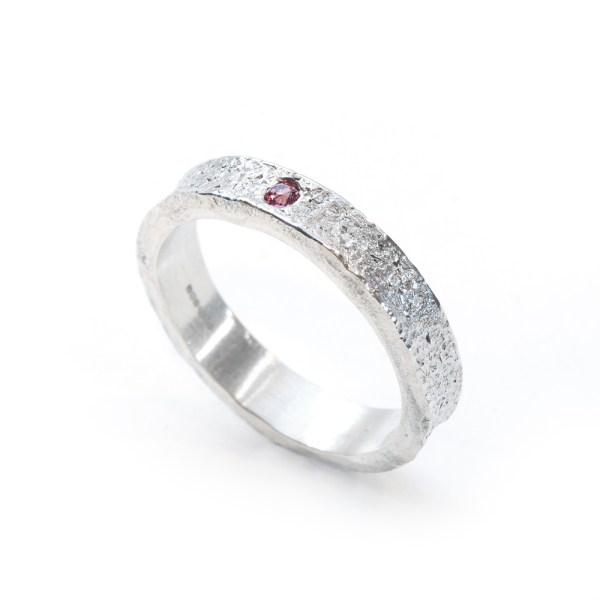 Vegan silver ring | Lisa Rothwell-Young