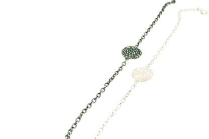 vegan silver bracelet