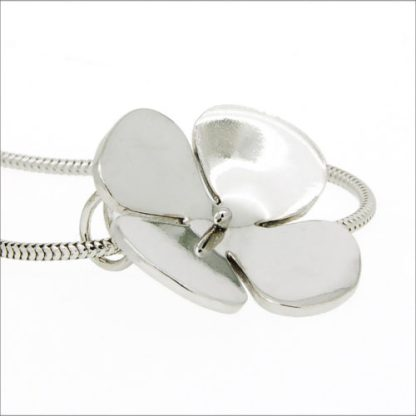 Recycled Sterling Silver Flower Pendant | Lisa Rothwell-Young