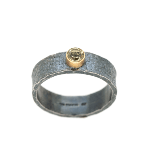 environmentally friendly recycled silver ring | Lisa Rothwell-Young