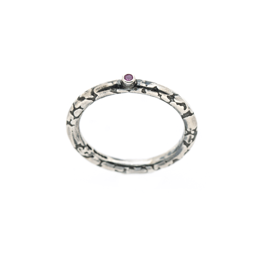 recycled silver ring | Lisa Rothwell-Young