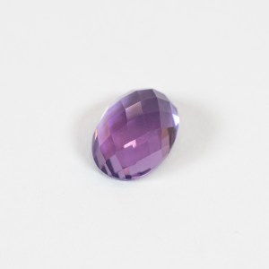 Ethical Oval Rose Cut Cabochon Shaped Amethyst|Lisa Rothwell-Young