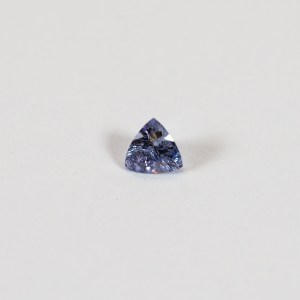 Ethical Trillion Shaped Blue Purple Sapphire|Lisa Rothwell-Young