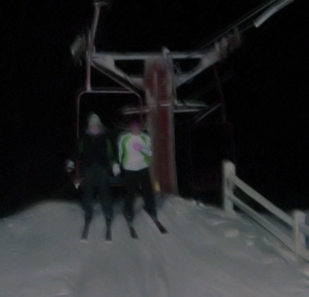 downhill skiing, ski lift, skiing, casio exilim