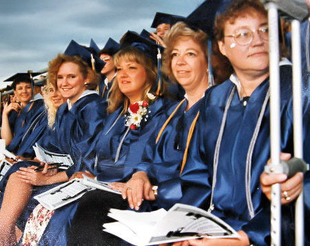 Graduation Nursing School 1994, Fond du Lac Wisconsin