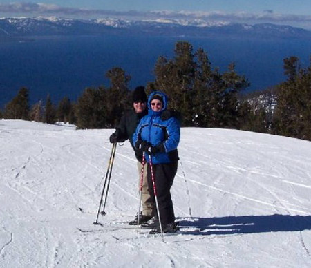 Skiing Heavenly - Lake Tahoe, NV