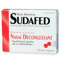 Purchasing Sudafed requires an I.D.