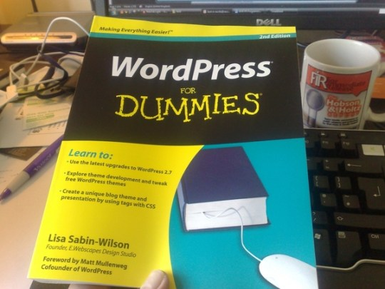 Neville Hobson (of http://www.nevillehobson.com/), all the way from the UK - shared a picture of his copy once it arrived from Amazon.uk and said:  Just arrived from Amazon UK: WordPress for Dummies 2nd Edition. The best how-to book on WP, imo.  Thanks, Neville!   Want to share your WordPress For Dummies photo?  Please do - Ill publish it here!