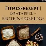 Weihnachtsrezept Fitnessrezept Bratapfel Proteinporridge