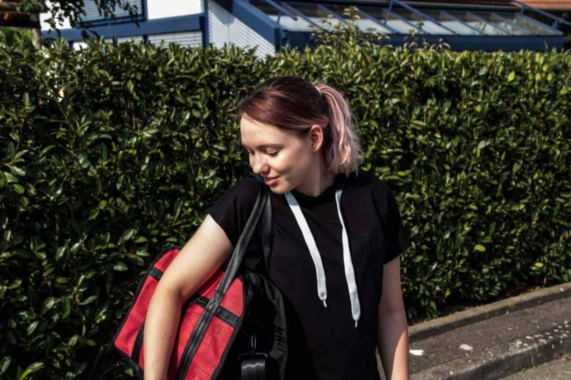 Meine Sporttasche und deren Inhalt