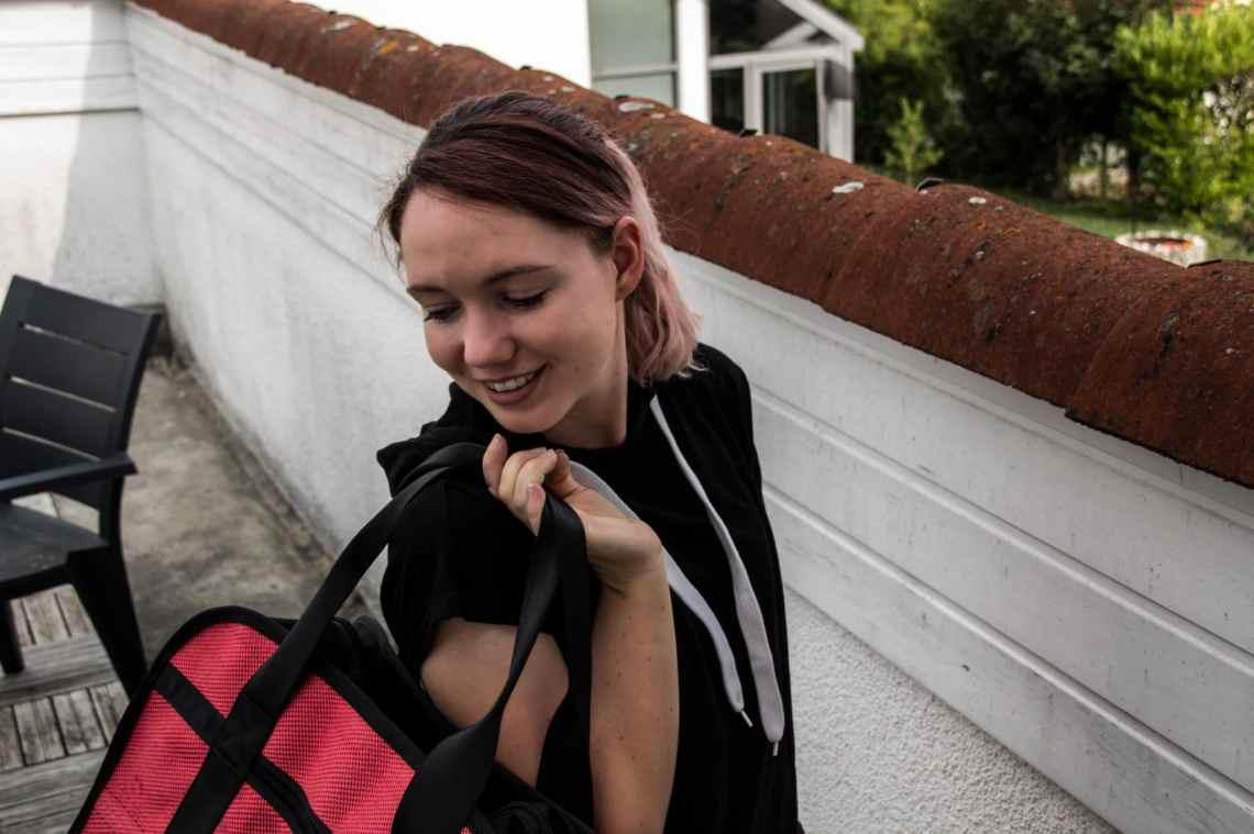 Sporttasche effizient packen