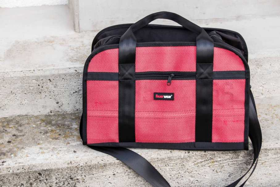 Die robuste Sporttasche Harris von Feuerwear