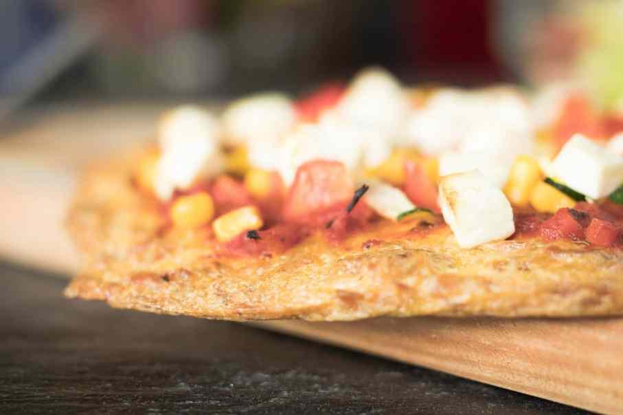 Slow Carb Rezept Thunfisch Pizza gesund