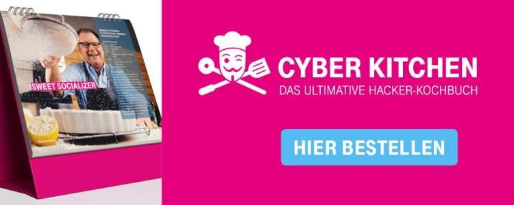 Logisch lecker wird mit der deutschen Telekom bei Cyber Kitchen gekocht.