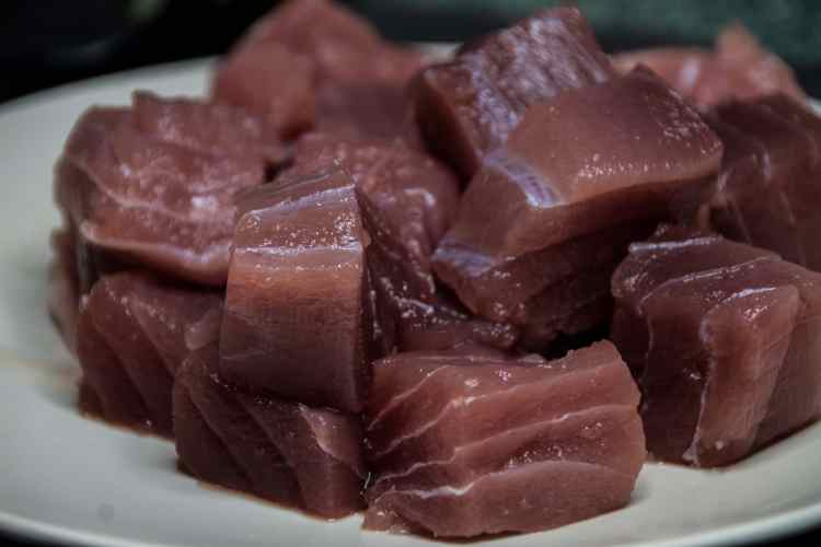 Thunfischfilet deutsche See Thunfischgulasch Rezept