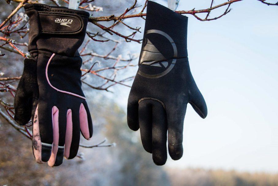 Radfahren im Winter mit den richtigen Handschuhen gegen kalte Hände