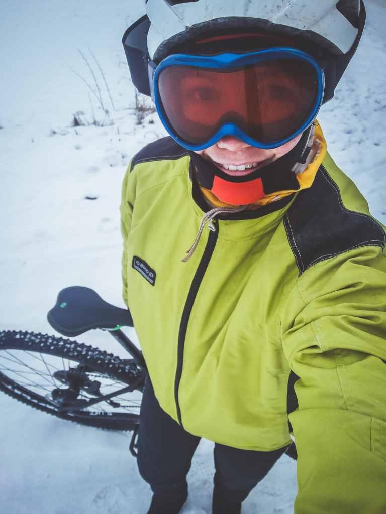 Radfahren im Winter ohne zu Frieren