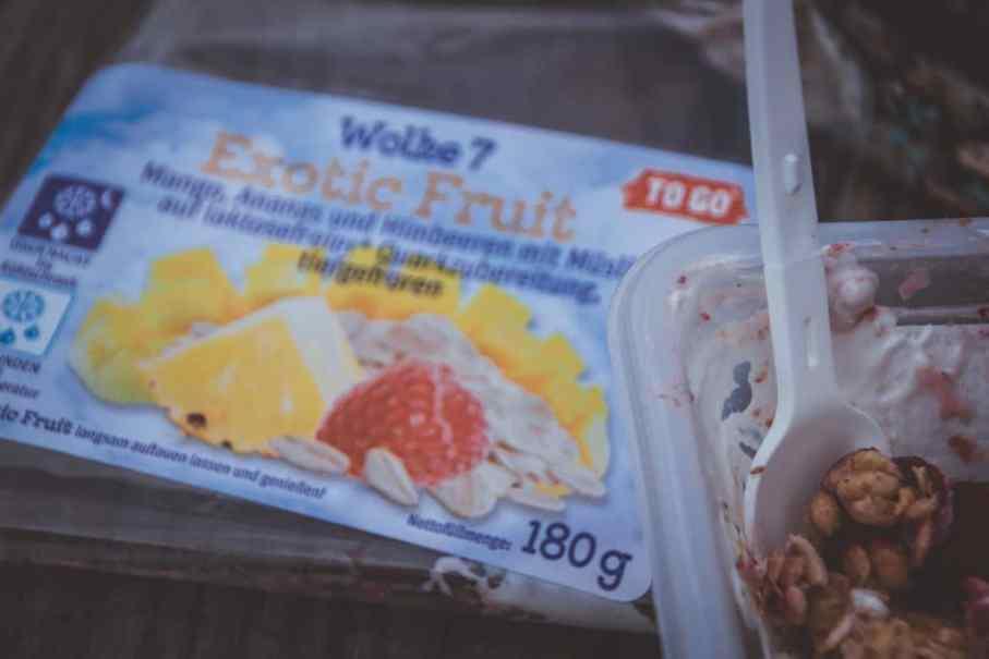 Gesunder Frühstückssnack für unterwegs von Jütro Wolke 7 To Go