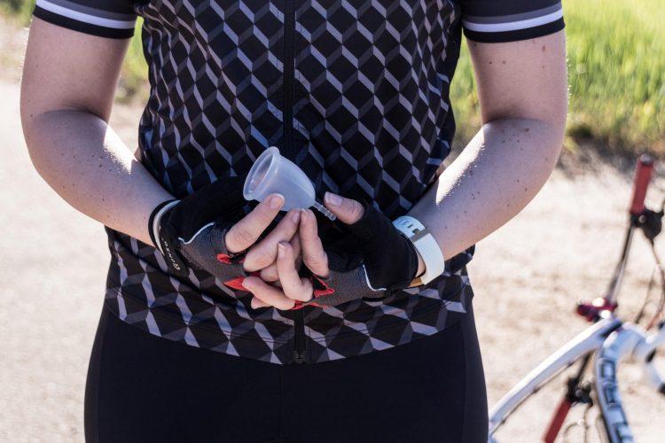 Die Menstruationstasse SafeCup von Vagisan.