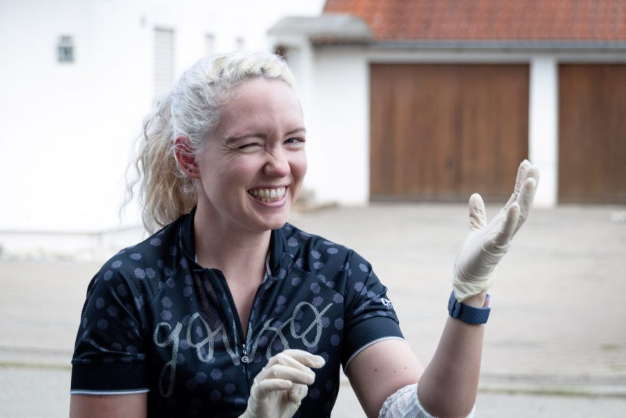Handschuhe sind wichtig beim Fahrrad reinigen. Vor allem beim Fahrradkette reinigen.