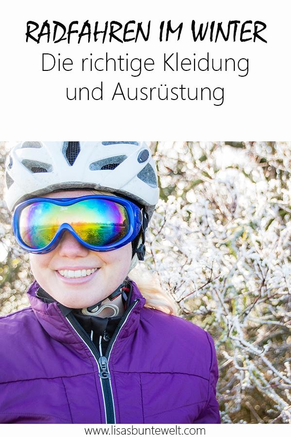 Radfahren im Winter Fahrradbekleidung und Ausrüstung